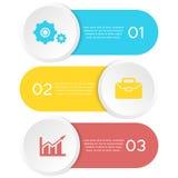 Abstrakcjonistyczny szablonu element dla infographic Może używać dla prezentaci, diagram, wykres Obraz Stock