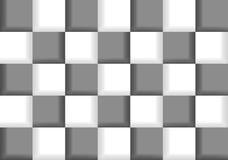 Abstrakcjonistyczny szachowy tło Obraz Royalty Free