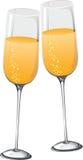 abstrakcjonistyczny szampan Zdjęcie Stock