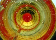 abstrakcjonistyczny szampan Fotografia Stock