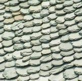Abstrakcjonistyczny szczegół Stare Łupkowe Dachowe płytki Fotografia Stock