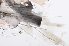 abstrakcjonistyczny szczotkarski obraz royalty ilustracja