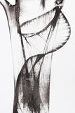 abstrakcjonistyczny szczotkarski obraz Obraz Stock