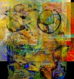 abstrakcjonistyczny szkło ilustracja wektor