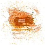 Abstrakcjonistyczny sztandar kiści muśnięcia i farby uderzenia Obrazy Stock
