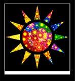 abstrakcjonistyczny sztandaru karty projektantów szablon Obraz Royalty Free