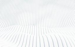 Abstrakcjonistyczny szyk shinny białych wieloboki 3 d czynią ilustracji