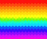 Abstrakcjonistyczny tło kolorowi zygzag royalty ilustracja