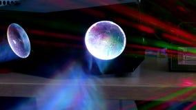 Abstrakcjonistyczny tła światła laser zbiory