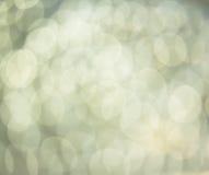 abstrakcjonistyczny tła światła srebro Zdjęcie Royalty Free