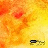 abstrakcjonistyczny tła akwareli kolor żółty Zdjęcie Stock