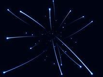 abstrakcjonistyczny tła błękit Fotografia Stock