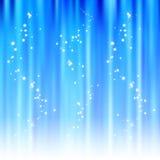 abstrakcjonistyczny tła błękit lśnienie Zdjęcia Royalty Free