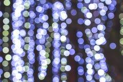 Abstrakcjonistyczny tła błękita bokeh Zdjęcie Stock