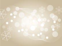 abstrakcjonistyczny tła bożonarodzeniowe światła srebra wh Zdjęcie Stock