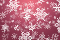 abstrakcjonistyczny tła bożych narodzeń płatek śniegu Zdjęcia Royalty Free