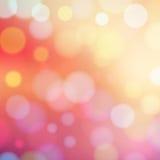 abstrakcjonistyczny tła bokeh światło Zdjęcia Royalty Free