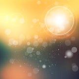 abstrakcjonistyczny tła bokeh światło Obraz Royalty Free