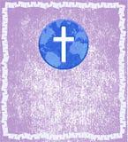 abstrakcjonistyczny tła chrześcijaństwa zawody międzynarodowe Zdjęcia Stock