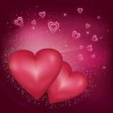 abstrakcjonistyczny tła dzień s valentine Zdjęcia Stock
