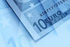abstrakcjonistyczny tła euro pieniądze Zdjęcie Royalty Free