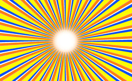 abstrakcjonistyczny tła koloru słońce Fotografia Royalty Free