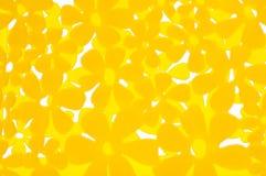 abstrakcjonistyczny tła kwiatu kolor żółty Zdjęcie Stock
