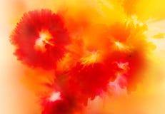 Abstrakcjonistyczny tła, kwiatu pojęcia, miękkiego i rozmytego styl, Obrazy Royalty Free