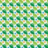 abstrakcjonistyczny tła liść wzór Zdjęcia Royalty Free