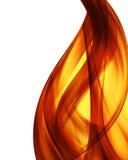 abstrakcjonistyczny tła oparzenie koloru ogień Fotografia Stock