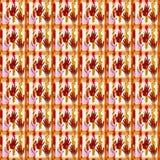 abstrakcjonistyczny tła ręki druk Obrazy Royalty Free