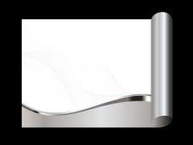 abstrakcjonistyczny tła szarość srebra biel Zdjęcia Stock