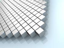 abstrakcjonistyczny tła sześcianów grey Zdjęcie Royalty Free