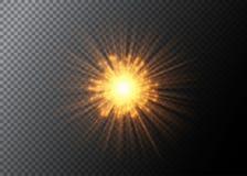 abstrakcjonistyczny tła wybuchu wektor Fajerwerku element odizolowywający na przejrzystym ilustracji