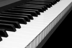 abstrakcjonistyczny tła zbliżenia klawiatury pianino Obrazy Stock