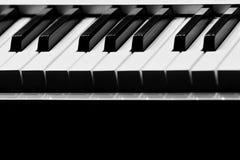 abstrakcjonistyczny tła zbliżenia klawiatury pianino Fotografia Royalty Free