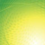 abstrakcjonistyczny tła zieleni kolor żółty ilustracji