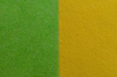 abstrakcjonistyczny tła zieleni kolor żółty Mieszkanie nieatutowy minimalizm geometryczny Deseniuje kartka z pozdrowieniami Obrazy Stock
