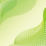 abstrakcjonistyczny tła zieleni liść Fotografia Stock