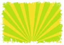 abstrakcjonistyczny tła zieleni pluśnięcie paskuje biel Zdjęcie Stock