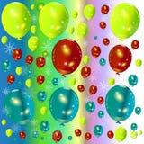 Abstrakcjonistyczny tło balonu tło. Obrazy Royalty Free