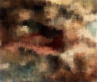 Abstrakcjonistyczny tło barwiąca grunge tekstura zamazana farba maże i plamy ilustracja wektor