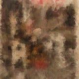 Abstrakcjonistyczny tło barwiona grunge tekstura zamazana farba maże i plamy ilustracji