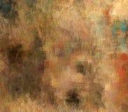 Abstrakcjonistyczny tło barwiona grunge tekstura zamazana farba maże plamy royalty ilustracja