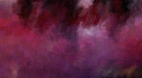 Abstrakcjonistyczny tło barwiona grunge tekstura zamazani farba rozmazy i plamy, ilustracja wektor