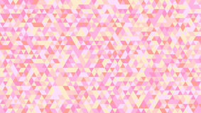Abstrakcjonistyczny tło barwioni trójboki horyzontalna wektorowa ilustracja Wzór z geometrycznym wzorem, mozaika ilustracja wektor