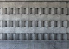 Abstrakcjonistyczny tło beton ilustracji