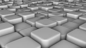 Abstrakcjonistyczny tło 3d bloki, sześciany, pudełko, 3d odpłaca się Obrazy Stock