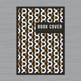 Abstrakcjonistyczny tło dla Książkowej pokrywy, plakat, ulotka, broszurka, Korporacyjna, sprawozdanie roczne projekta układu szab Obrazy Royalty Free