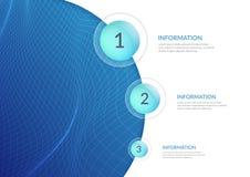 Abstrakcjonistyczny tło dla prezentacj i infographics Liczący rozkaz akcje Wykoślawienie przestrzeń ilustracji